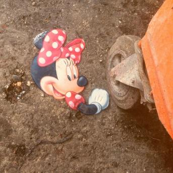 Minnie had learned to take the bad with the good. Not one to let a little stumble dampen her spirits, she tightened her bow and hiked up her bloomers. Minnie was ready for action.