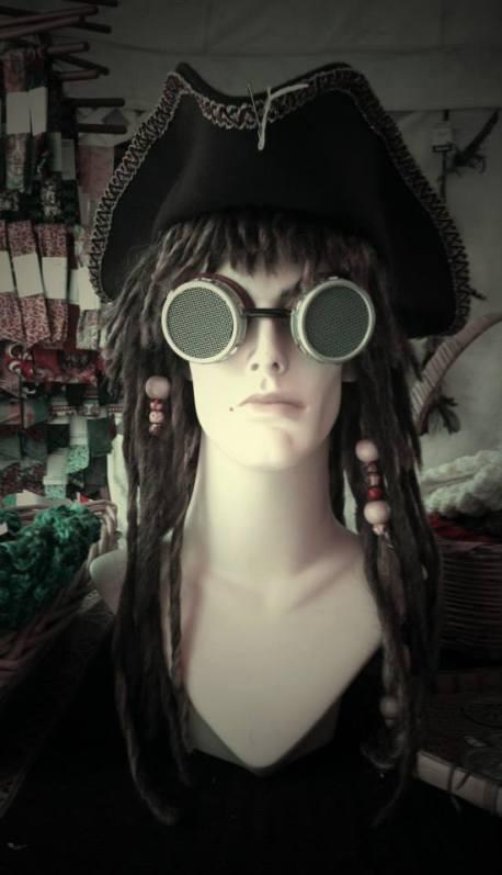 Steampunk Pirate Head